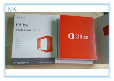 Çin Genuine Microsoft Office Professional 2016 Product Key 32 Bit / 64 Bit USB Flash Driver COA Tedarikçi