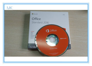 Çin Microsoft Office 2016 Standard DVD Retail Pack Office 2016 Pro Key Activation Online Tedarikçi