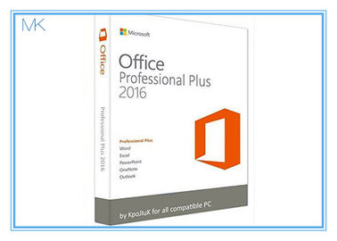 Çin Original Key Microsoft Office 2016 Professional Plus Software Retailbox With USB Tedarikçi