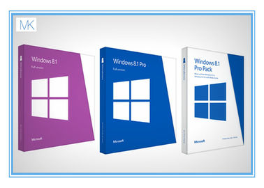 Çin Original Windows 8.1 64 Bit Product Key Oem Package With DVD Key Card Tedarikçi