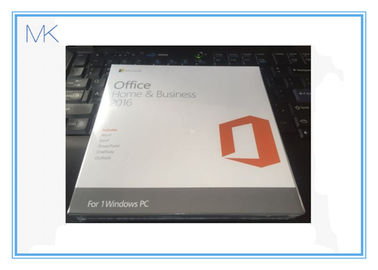 Çin MS Microsoft Windows Software Office Home and Business 2016 Keycard for Windows PC Tedarikçi