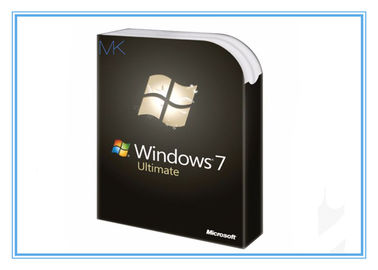 Çin Genuine Microsoft Update Windows 7 SP1 64 bit Full System Builder OEM DVD 1 Pack Tedarikçi