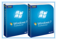 Çin Microsoft Windows Software Windows 7 Pro 64 Bit Full Retail Version DVD Sofware With COA 100% Activation Fabrika