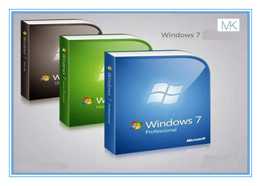 Çin Computer System Microsoft Update Windows 7 Pro OEM Software Windows 7 Retail License Fabrika